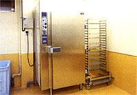 冷却室急速冷凍機等
