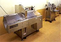 精肉加工室高速スライサー・自動包装値付け機